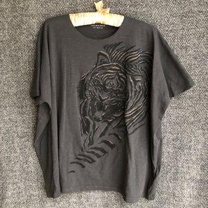 All saints tiger shirt